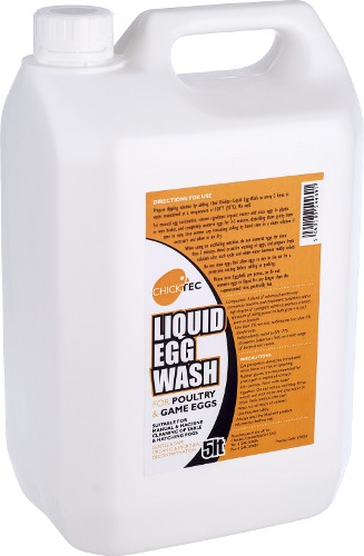 Chicktec Liquid Egg Wash 5ltr