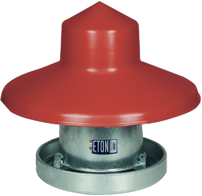 Eton 10kg galvanized feeder with hat