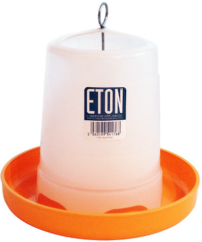 eton hang or stand orange and white feeder 1.5kg